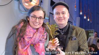 Marie Sophie Hingst soll Biografie vorgetäuscht haben (OBS/Die Goldenen Blogger/H. Andree)