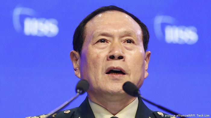 Der chinesische Verteidigungsminister, General Wei Fenghe