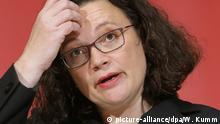 Berlin Andrea Nahles SPD-Vorsitzende