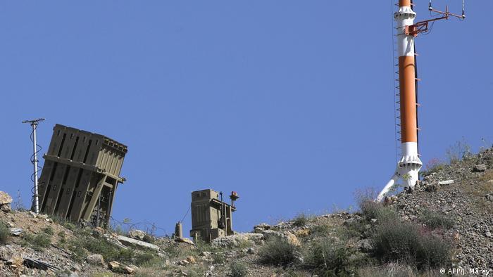 Israel Militäranlage Mount Hermon Golanhöhen (AFP/J. Marey)