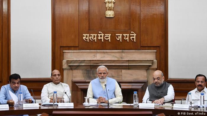Indien Vereidigung neues Kabinett von Premierminister Narendra Modi