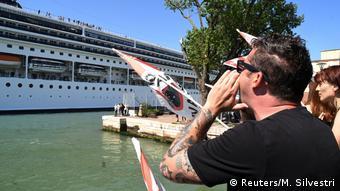 Τα κρουαζιερόπλοια θα αργήσουν να ξαναφανούν στα νερά της Βενετίας