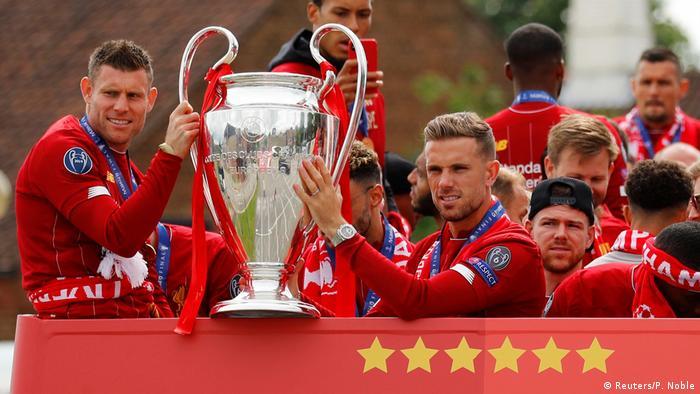 UEFA Champions League Triumphfahrt FC Liverpool