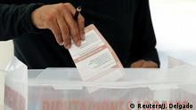 Foto simbólica de votación en México.