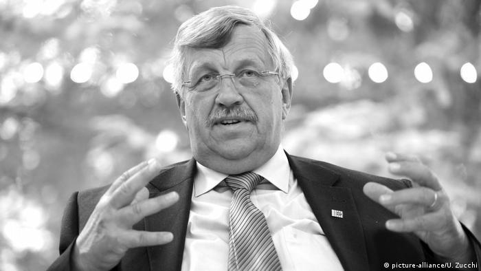 Öldürülen Kassel Bölge Valisi Walter Lübcke