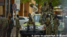 Sudan Soldaten in Khartum