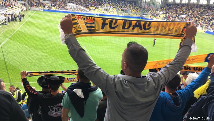 FC Dac's fans have reacted defiantly against efforts to stop them singing the Hungarian national anthem