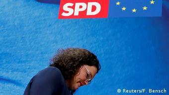 Η Αντρέα Νάλες αποχωρεί από την πολιτική εν γένει