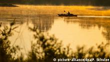 BdT - Sonnenaufgang an der Elbe