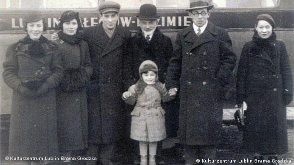 Henio with his family in 1937