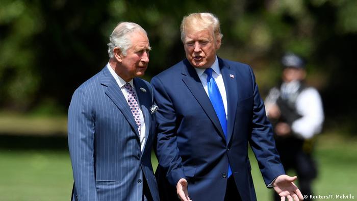 Принц Чарльз та Дональд Трамп