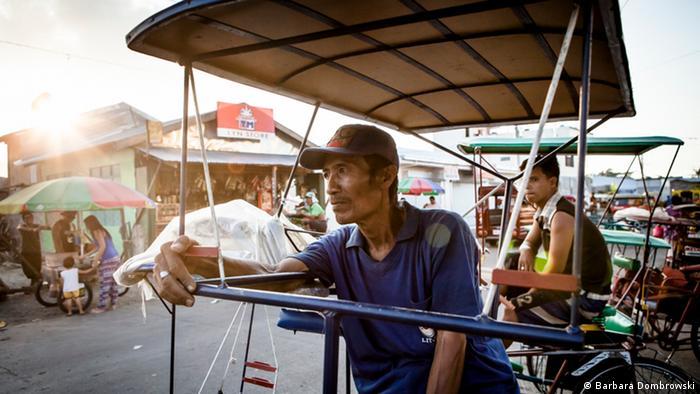 Водители рикш на Филиппинах