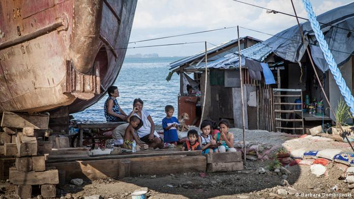 Юные филиппинцы