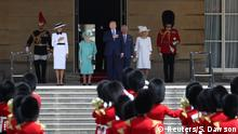 England Besuch Donald Trump