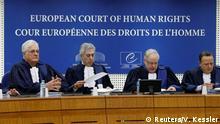 Straßburg Europäischer Gerichtshof für Menschenrechte Anhörung