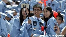(150520) -- NEW YORK, May 20, 2015 -- Chinese Graduates of Columbia University attend the commencement ceremony in New York City, United States, on May 20, 2015. According to the Open Doors 2014, Chinese student enrollments in the United States increased by around 17 percent at all levels to more than 274,000 students, and increased by 18 percent at the undergraduate level. Students from China now reportedly make up 31 percent of all international students in the United States. ) U.S.-NEW YORK-COLUMBIA UNIVERSITY-COMMENCEMENT CEREMONY-CHINESE GRADUATES WangxLei PUBLICATIONxNOTxINxCHN 150520 New York May 20 2015 Chinese graduates of Columbia University attend The commencement Ceremony in New York City United States ON May 20 2015 According to The Open Doors 2014 Chinese Student enrollments in The United States Increased by Around 17 percent AT All Levels to More than 274 000 Students and Increased by 18 percent AT The UNDERGRADUATE Level Students from China Now reportedly Make up 31 percent of All International Students in The United States U S New York Columbia University commencement Ceremony Chinese graduates WangxLei PUBLICATIONxNOTxINxCHN