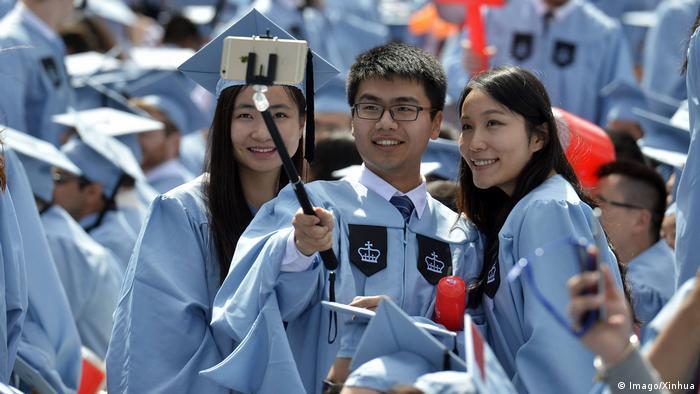 New York Columbia Universität Chinesische Absolventen