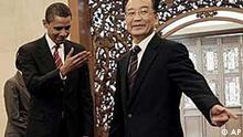 Barack Obama und Wen Jiabao / China / USA