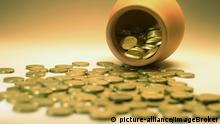 Töpfchen und Münzen