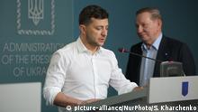 Kiew Selenskij Briefing Trilaterale Kontaktgruppe