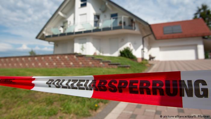 Crime scene at Walter Lübcke's house