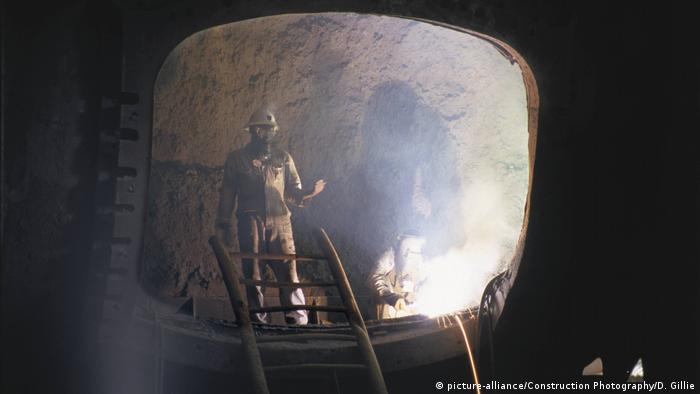 Kupferbergbau in Sambia