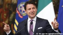Giuseppe Conte Rome June 3rd 2019. Press conference of the Italia Premier on the situation of the Government. Foto Samantha Zucchi Insidefoto PUBLICATIONxNOTxINxITA SamanthaxZucchi