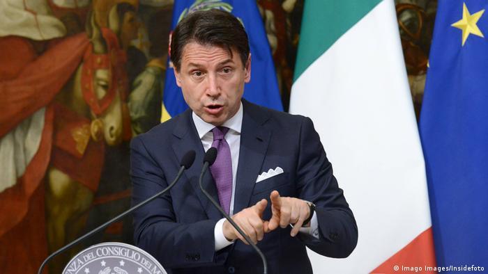 Talijanski premijer Giuseppe Conte