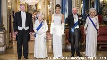 UK Besuch des US-Präsidenten Trump in Buckingham Palace