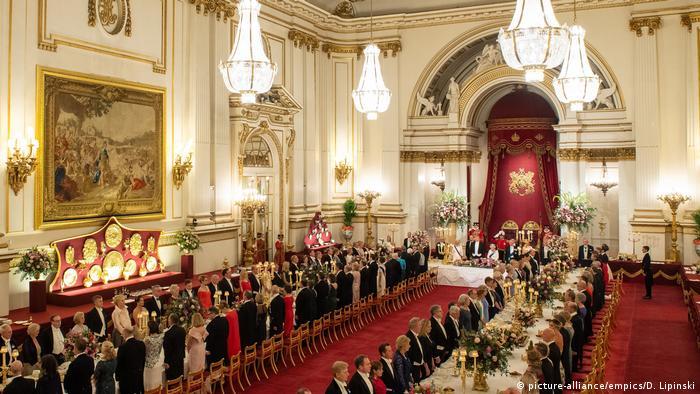 UK Staatsbankett zum Besuch des US-Präsidenten Trump (picture-alliance/empics/D. Lipinski)