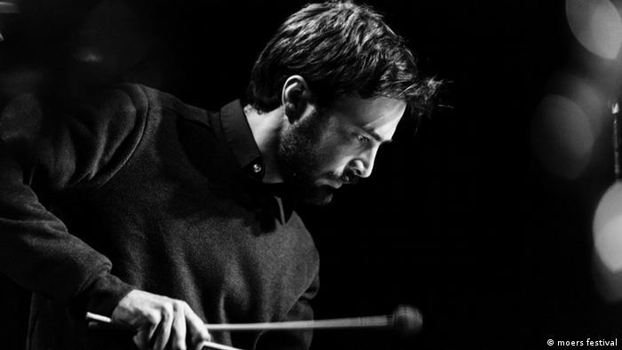 Vibrafonist Emilio Gordoa