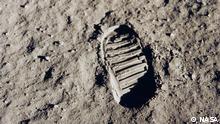 50 Jahre Mondlandung | Apollo 11 Bootprint