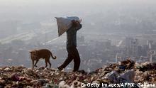 Indiens höchster Müllberg
