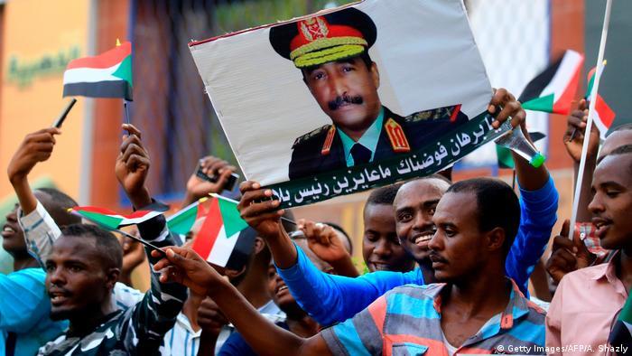 BG Sudan Proteste