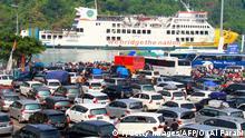 Indonesien Sumatra Reisewelle Mudik