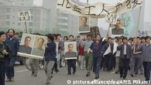 Peking 1989 Studentenproteste Pro Demokratie