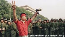China Peking 1989 Studentenproteste Pro Demokratie
