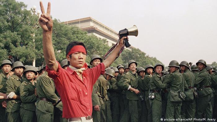 China Peking 1989 Studentenproteste Pro Demokratie