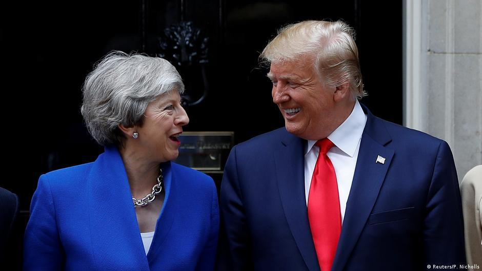 Trump vows 'phenomenal' post-Brexit trade deal during UK visit