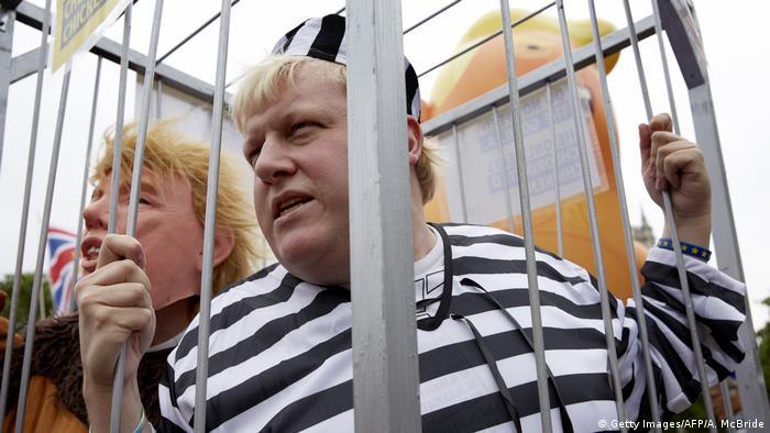 Proteste gegen Donald Trump in London