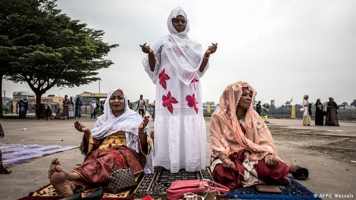 Foto ilustrativa: Mulheres celebram o Ramadão na RDC