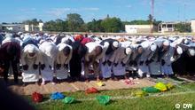 Beschreibung: Muslime in Pemba, Cabo Delgado (Mosambik), feiern das Ende des Fastenmonats Ramadan. Ort: Pemba / Mosambik Fotograf: Delfim Anacleto / DW Datum: 04.06.2019 Beschreibung: Muslime in Pemba, Cabo Delgado (Mosambik), feiern das Ende des Fastenmonats Ramadan. Ort: Pemba / Mosambik Fotograf: Delfim Anacleto / DW Datum: 04.06.2019