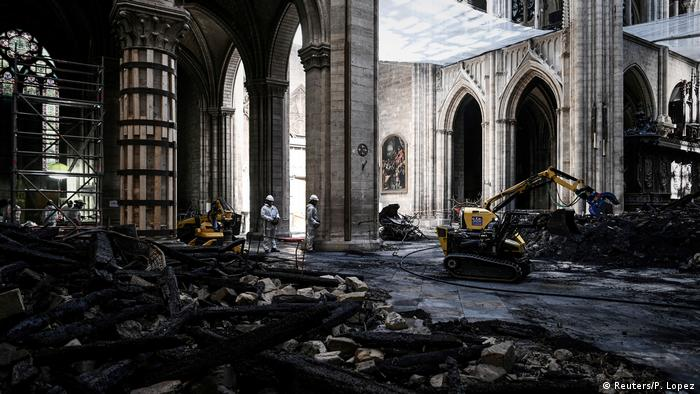 Construction work at Notre Dame was ceased on July 25 after officials discovered that anti-contamination procedures were insufficient.