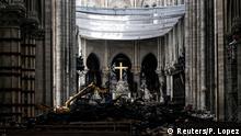 Frankreich Paris | Wiederaufbau Kathedrale Notre-Dame de Paris