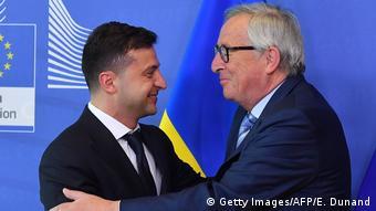 Зустріч Зеленського та Юнкера речник Єврокомісії назвав теплою