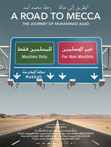 Filmplakat A road to Mecca