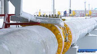 white gas pipeline