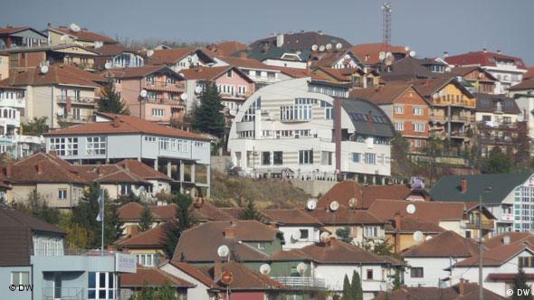 Dragodan Viertel in Pristina, Kosovo