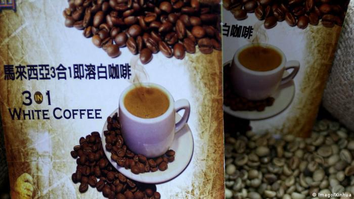 Malaysia Weißer Kaffee (Imago/Xinhua)