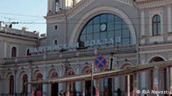 Балтийский вокзал. Архитектор Александр Кракау